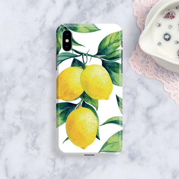 lemon iphone 8 plus case
