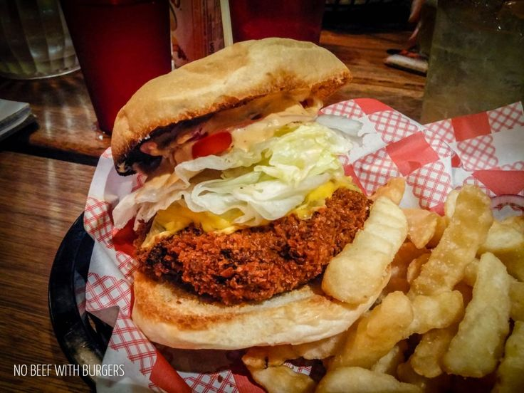 The Veggie Burger from Surly's in Surry Hills!
