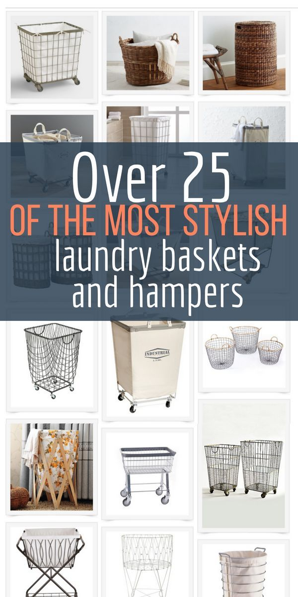 Best Sources For Farmhouse Style Laundry Baskets And Hampers Laundry Room Hamper Laundry Basket Laundry Decor