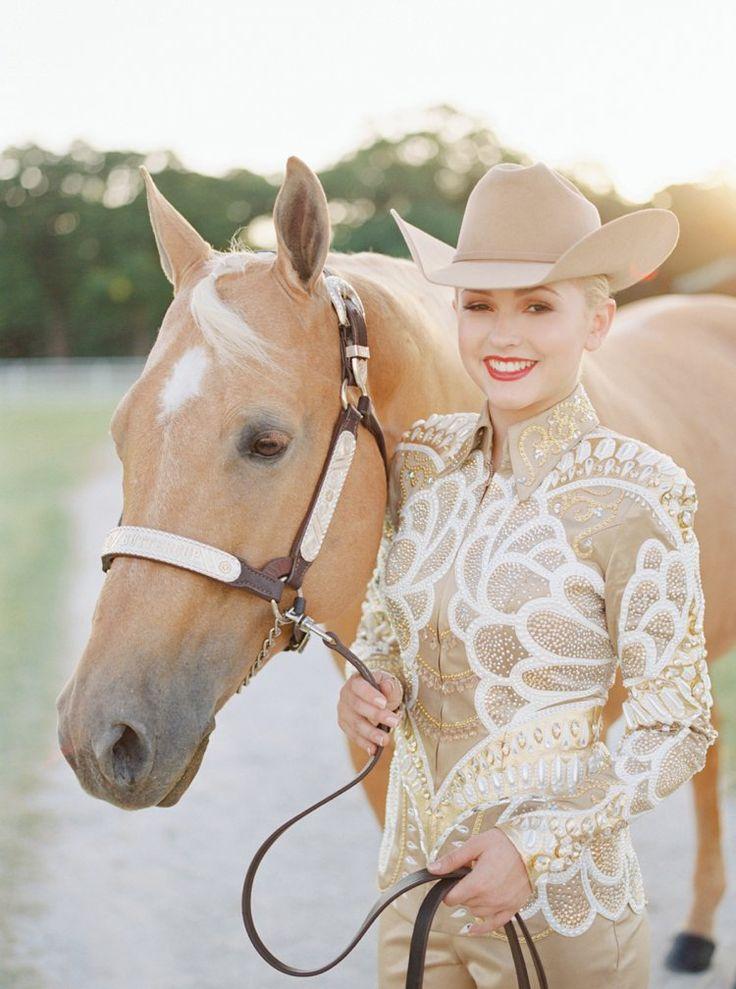 Deanna Green | AQHA World Champion | Rusty Green Show Horses | Devin Territo Makeup | As seen on GoHorseShow  Kirstie Marie Photography www.kirstiemarie.com