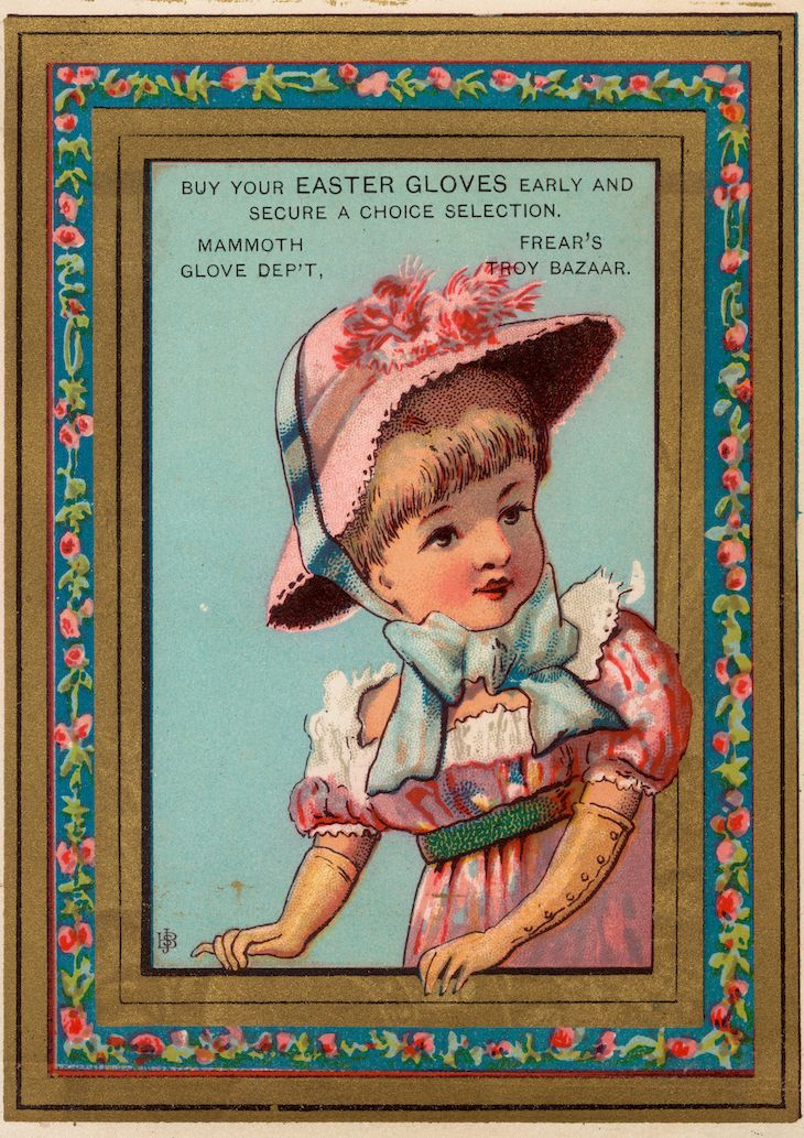 Here is a set of Frear's Troy Bazaar 1882 Children, advertising the latest Spring Fashions: I have sized these to print individually on A4-pages, so they are quite large! :-D Thus suitable fo…