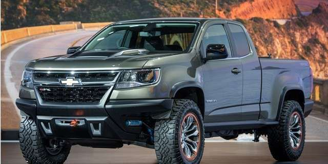 Chevy Colorado Pickup >> 2017 Chevy Colorado: New Engine, Features | 2017 / 2018 Cars Review | Ride | Pinterest | Chevy ...