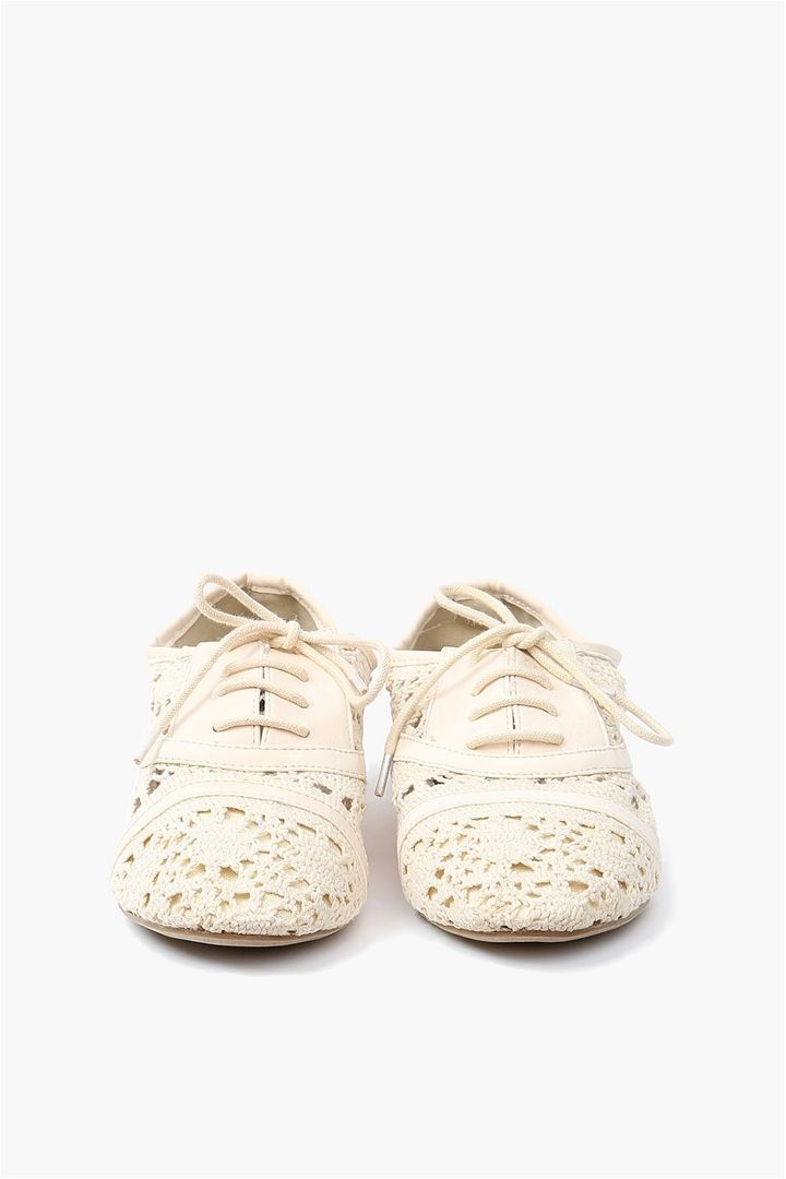 Lace Oxford Flat - White just scrolling when bam my shoes are on pinterest...and my feet i just freaked out so bad over this.....but I'm in the waiting room of a therapist so nobody cared