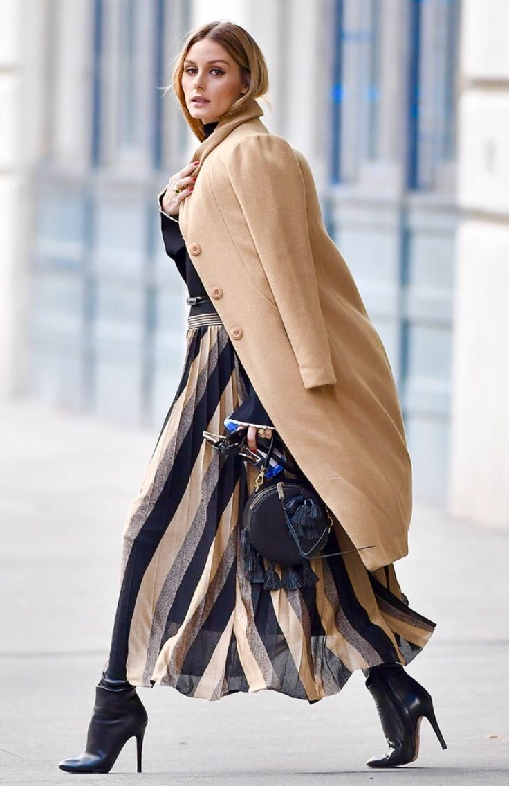 Olivia Palermo in Brooklyn, New York. -