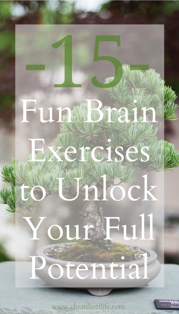 THE BEST exercises for brain I found! More at http://cheatsheetlife.com/exercises-healthy-brain/