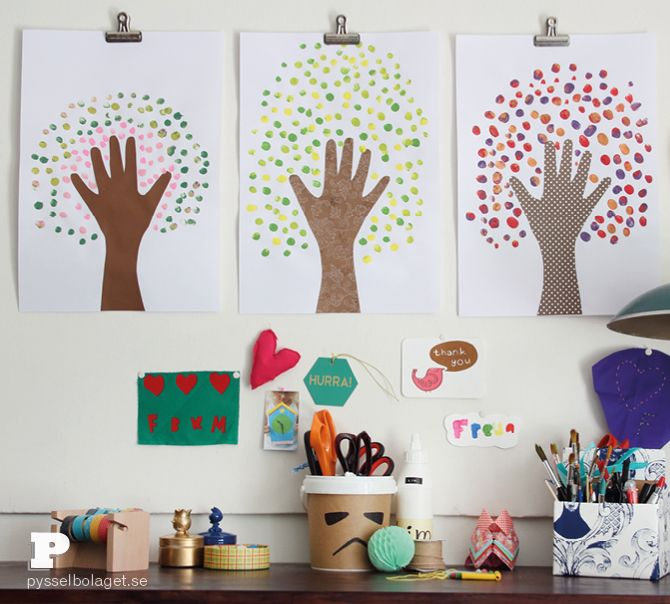 Handprint tree art4