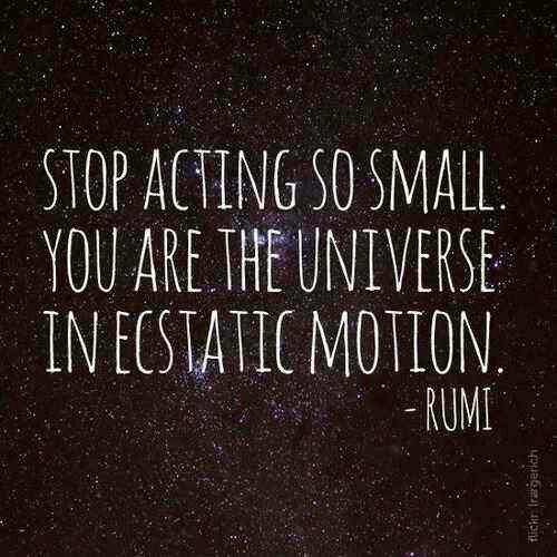 #Rumi #Poetry #Quotes #Universe