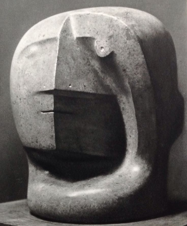 Henry Moore Head 1936 #sculpture #art #henrymoore