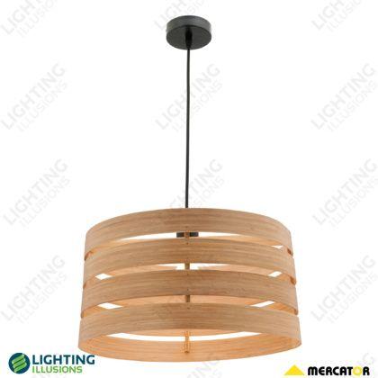 Hershey Natural Bamboo Shade Pendant Light   Shop   Lighting Illusions  Online