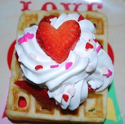 waffle valentine