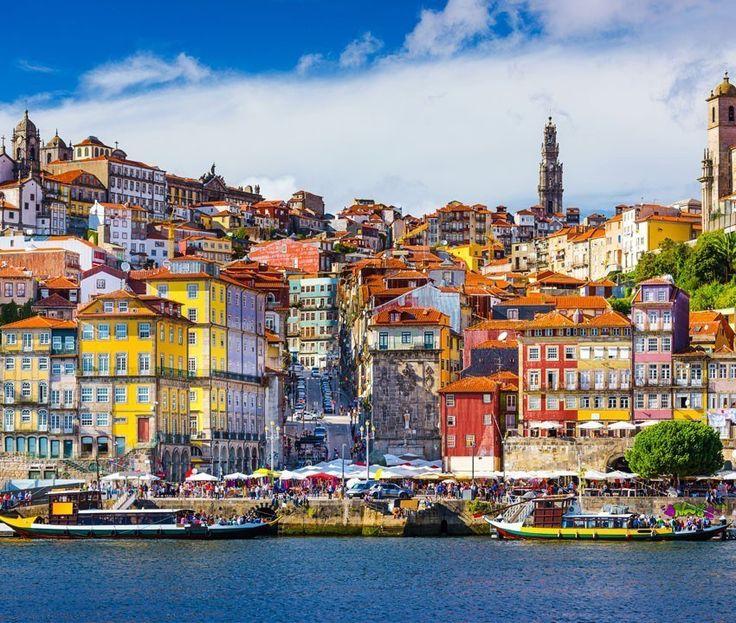 Cais da Ribeira, Porto Portugal