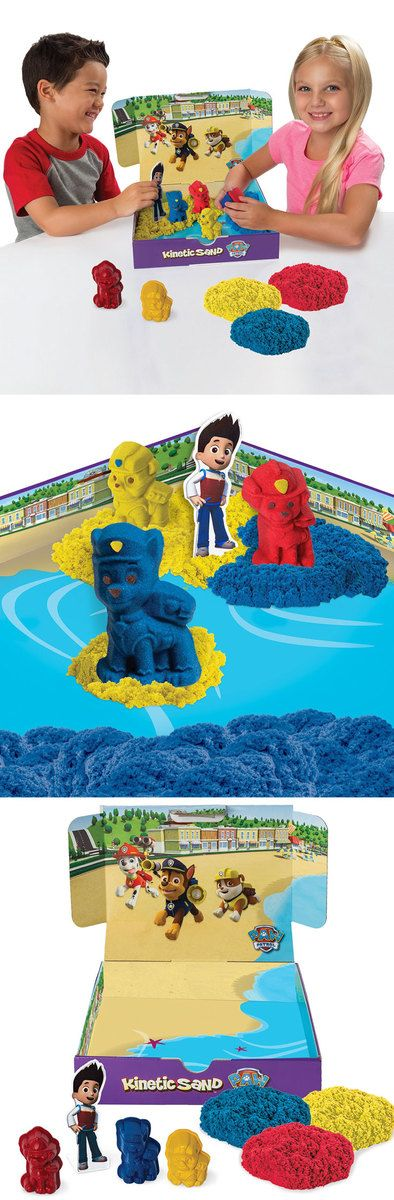 Paw Patrol Kinetic Sand Playset 1997 Amazonca