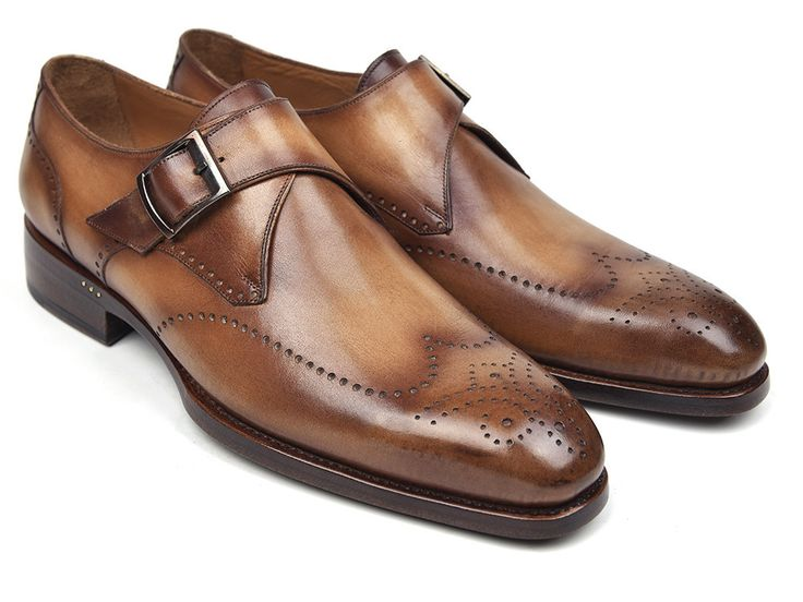 Monk Strap Shoes Single Brown - PRO Quality