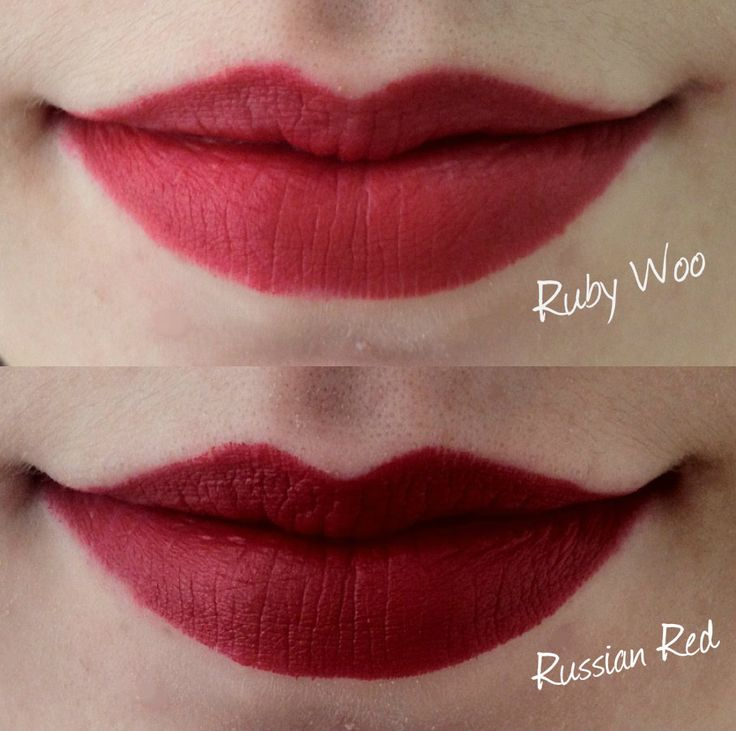 MAC Russian Red & Rubi Woo...