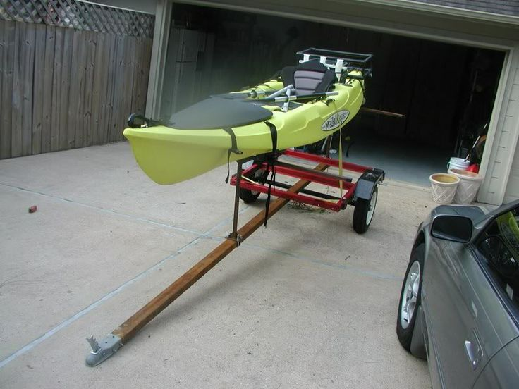 41 best images about kayak trailer on pinterest utility for Fishing kayak trailer