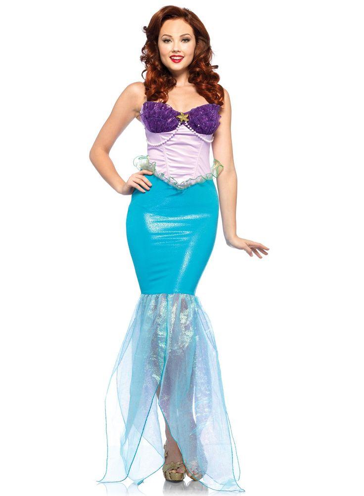 Disney The Little Mermaid Ariel Cold Shoulder Romper, LIGHT PURPLE, hi-res