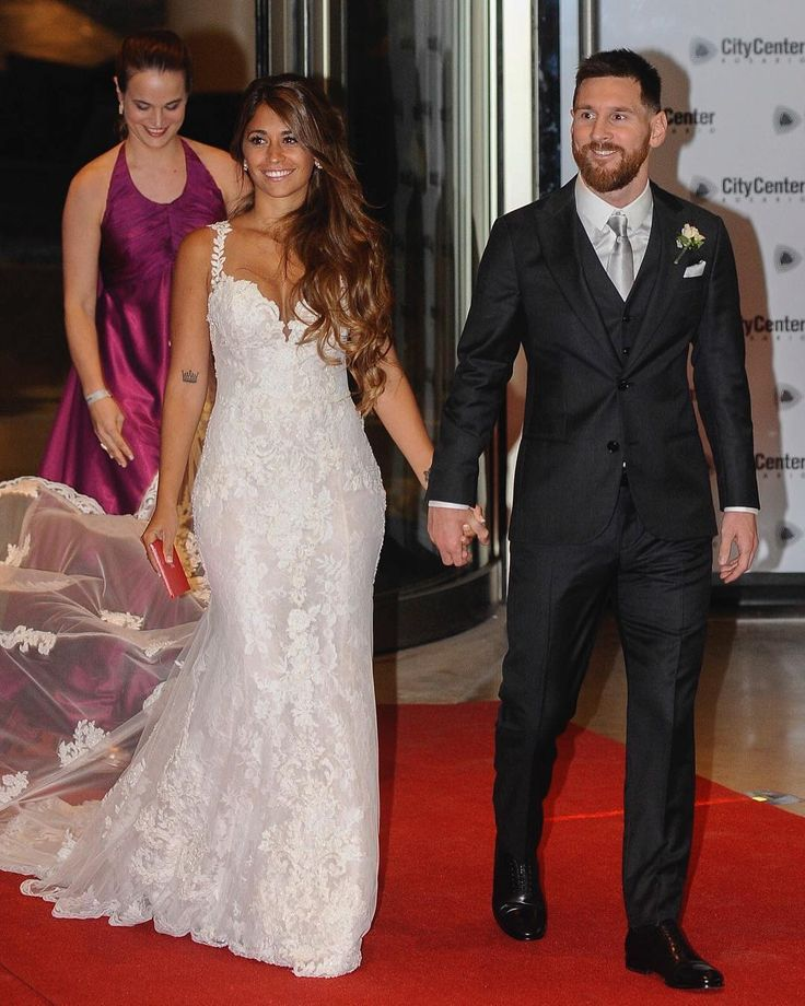 Mr. & Mrs. Messi @AntoRoccuzzo88 @LeoMessi ________________________________________________  @MensFashionReview  @MFRmagazine  @TheSuitCam  @TheShoeCam  @MFRlifestyle  @WomensFashionReview  ________________________________________________  [#MFRlifestyle] [#MensFashionReview]  [#MFRmagazine] [#TheShoeCam] [#TheSuitCam] #Fashion #MensFashion #StreetStyle #Urban #Style #OOTD #FashionBlogger #Dapper #SuitandTie #GQ #Guys #Girls #Picoftheday #Stylist #2017 #1 #Follow #Shoes #Spring #Me...