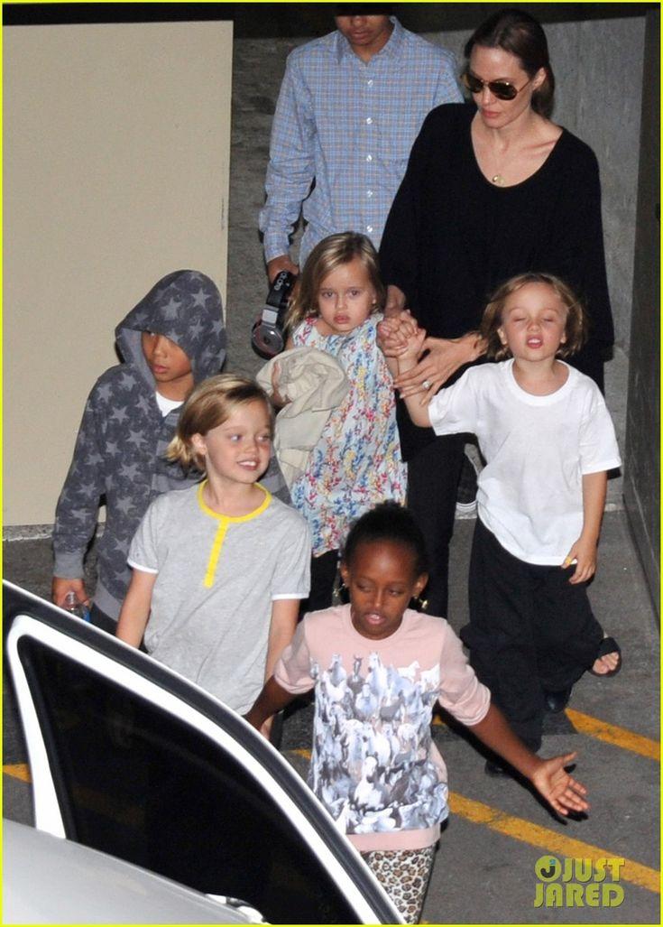 Angelina Jolie Goes Bowling in Australia with All Six Kids! | Angelina Jolie, Brad Pitt, Celebrity Babies, Knox Jolie-Pitt, Maddox Jolie Pitt, Pax Jolie Pitt, Shiloh Jolie Pitt, Vivienne Jolie-Pitt, Zahara Jolie Pitt Photos | Just Jared