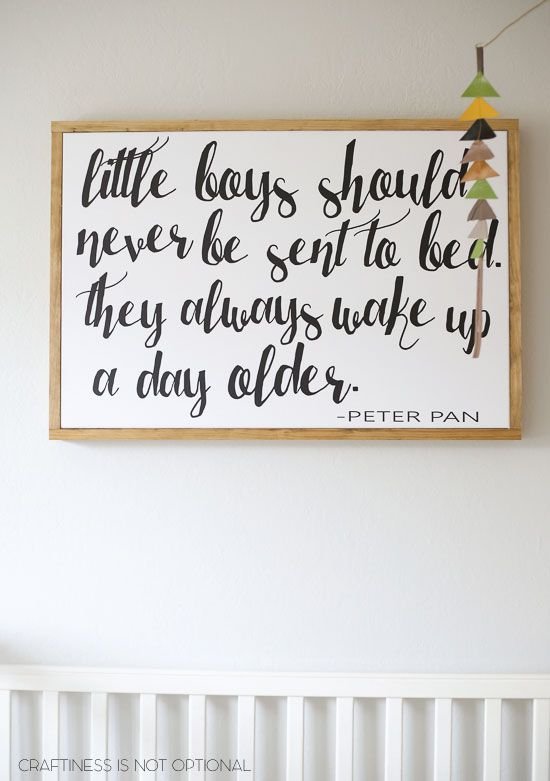 Peter Pan Baby Boy Nursery