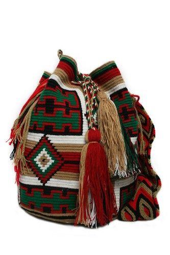 beautiful wayuu bag
