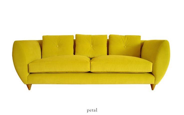 rume petal 3 seater sofa