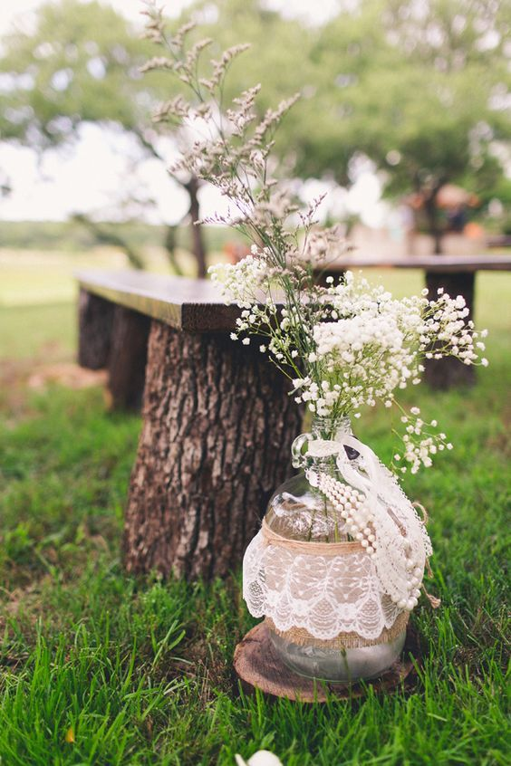 30 New Ideas For Your Rustic Outdoor Wedding Wedding