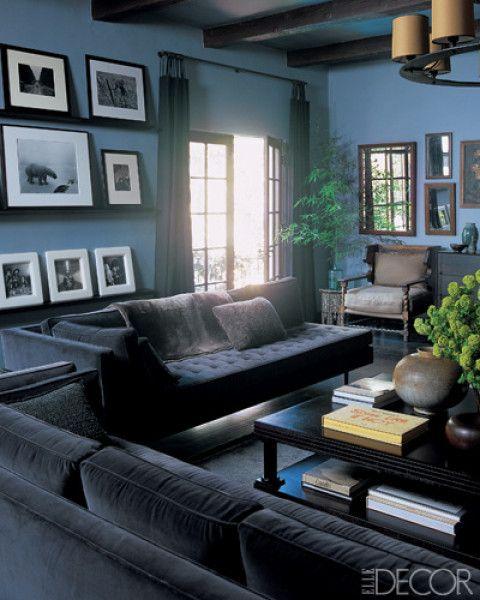 5 gallery wall ideas from celebrity homes like Ben Stiller and Ginnifer Goodwin.