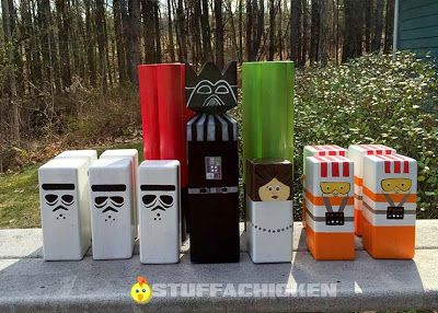 Gonna Stuff a Chicken: Star Wars Kubb Set                                                                                                                                                                                 More