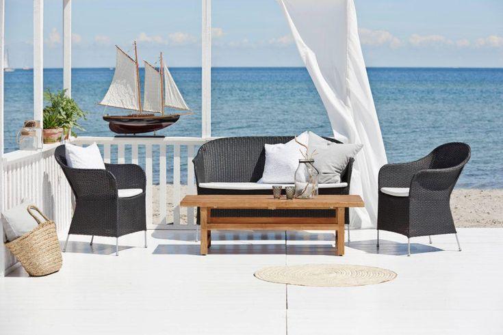 ATHENE meble wypoczynkowe ze stołem JULIAN. AVANTGARGE Sika-Design 2016. Poleca Willow House.