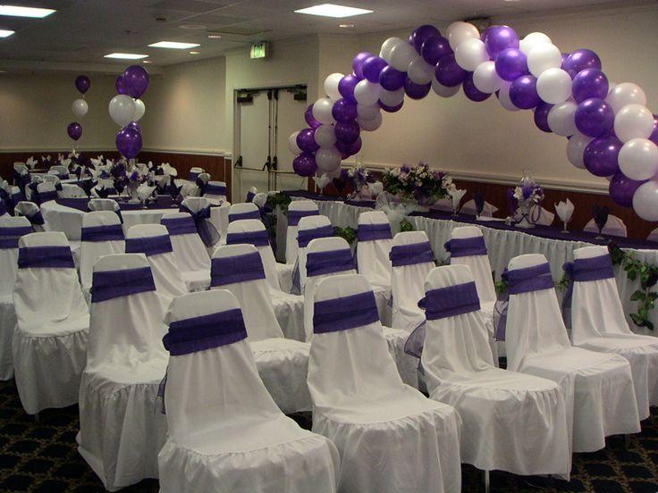 78+ Ideas About Purple Wedding Receptions On Pinterest