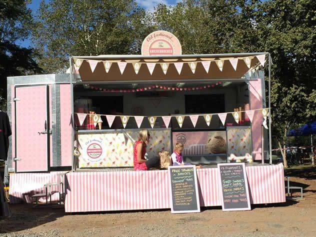 Knickerbocker Ice Cream Company food truck. Photo courtesy of the food truck.