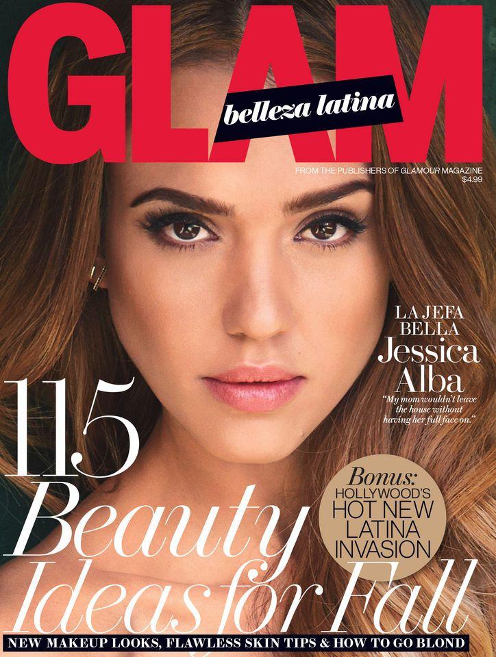 Glam Belleza Latina Talks Beauty, Family, and Latina Identity With Its Fall Cover Star, Jessica Alba!