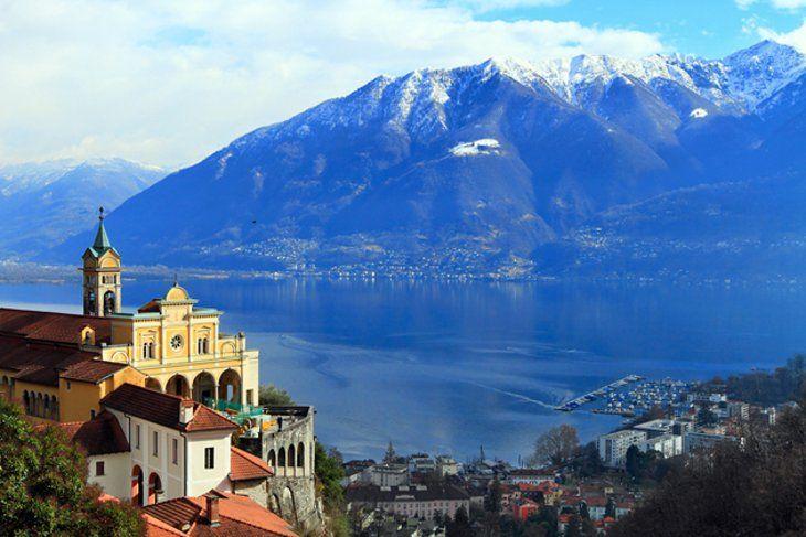Madonna del Sasso - Locarno & other sights in Locarno, Lugano & Ticino