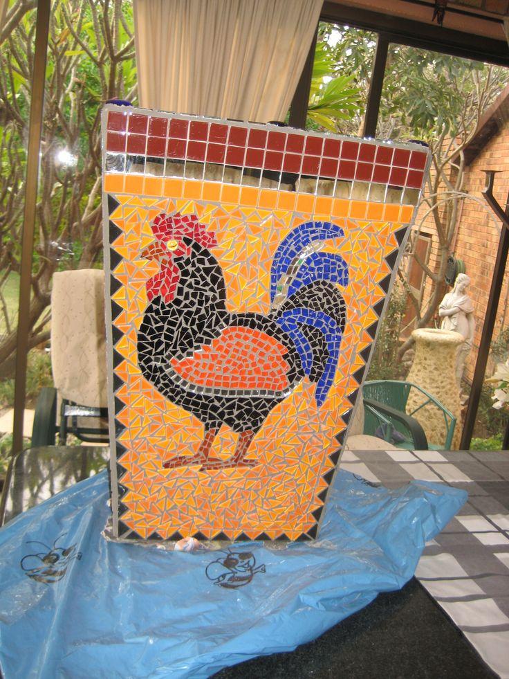 Mosaic flower pot 1