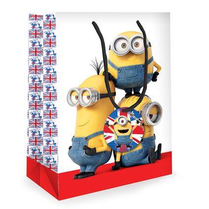 Minion Gift Bag available to buy direct from publisher danilo.com with free UK Delivery. Worldwide shipping also available
