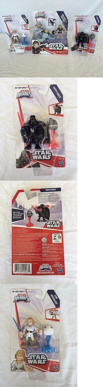 Playskool 2576: Star Wars Galactic Heroes Han Solo And Tauntaun, Luke Skywalker,And Darth Vader -> BUY IT NOW ONLY: $32.95 on eBay!