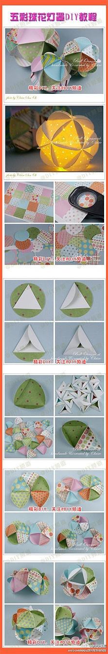 ... De Origami no Pinterest  Luminárias de papel, Papel origami e