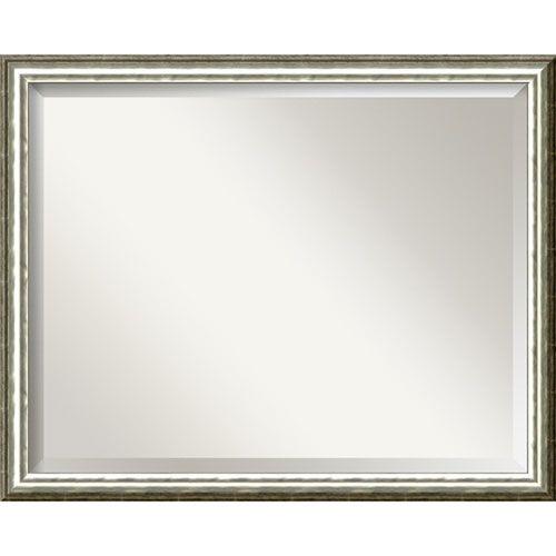 soho silver large wall mirror amanti art rectangle mirrors home decor