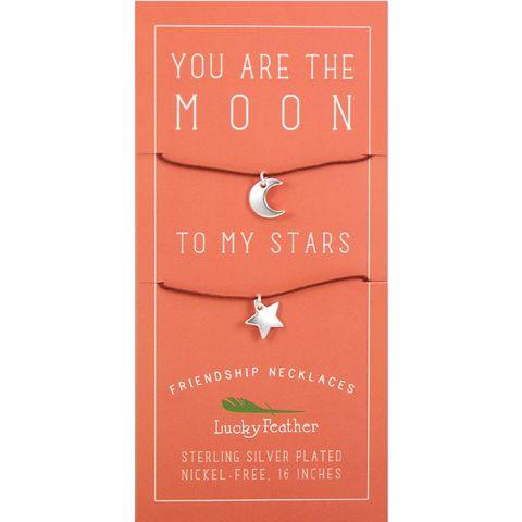 Lucky Feather Moon & Stars