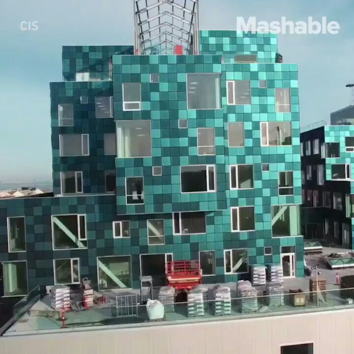 """. """"This School is Covered in Solar Panels""""   Copenhagen School  The 12000 Solar Panels on this School Cover half its annual electricity consumption needs . video  via @mashable . #solarpanels #solarpanel #solarenergy #electricity #renewableenergy #energy #solar #sunlight #greenenergy #renewables #electricityconsumption #architecture #architect"""