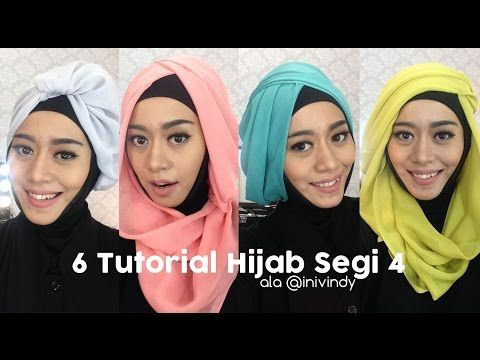 Tutorial Hijab Layer Bahasa Jawa - YouTube