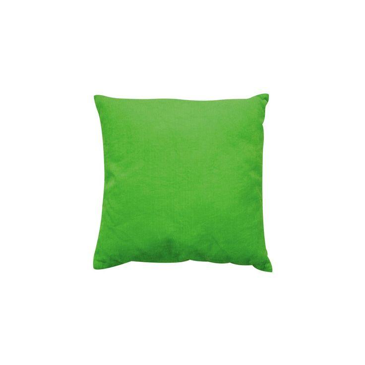 From petit pan · coussin velours carré zip m vert