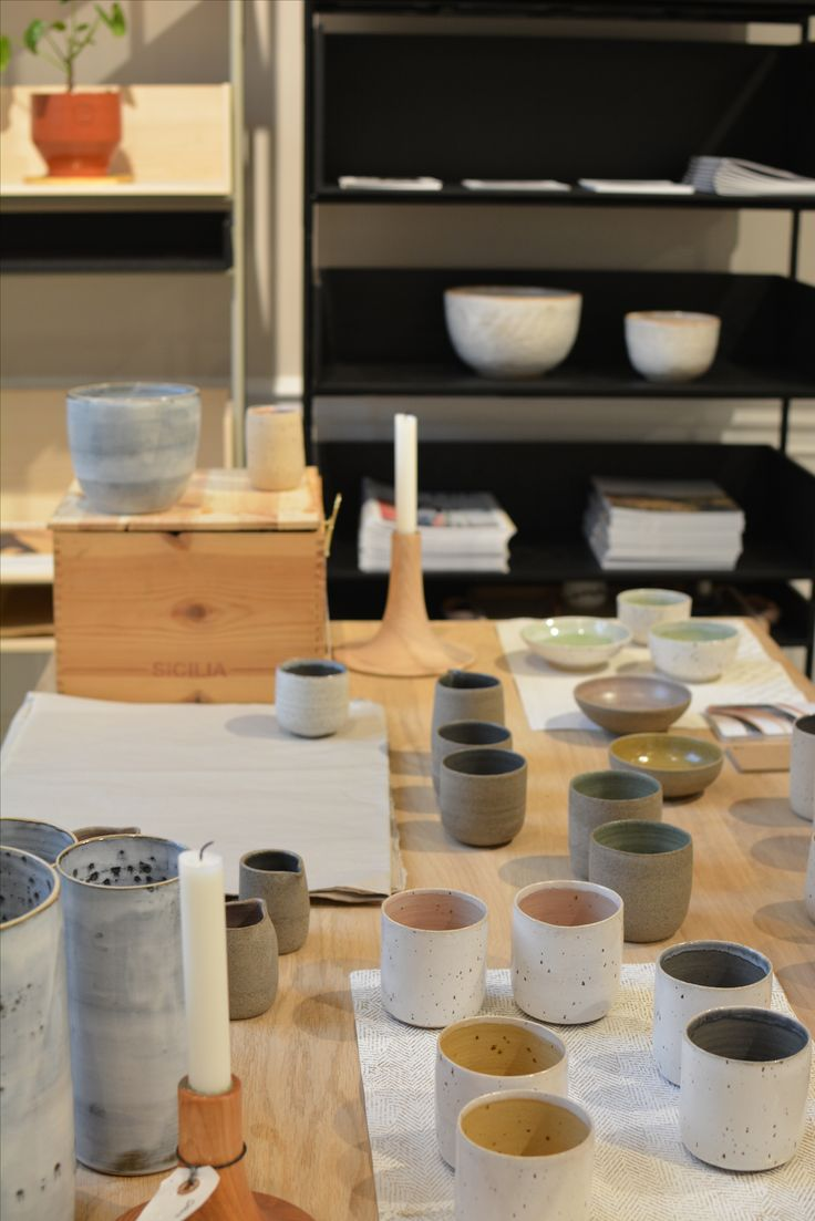 Ceramicist Tasja Pulawska and beautiful creations.