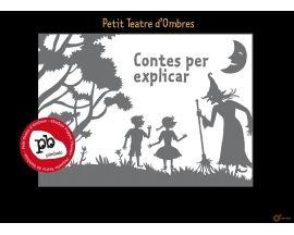Pequeño Teatro de Sombras Pequeño Teatro de Sombras de Pímbalo con 9 acetatos de cuentos, historias, decorados y personajes incluidos para hacer funciones (2 a 9 años). #teatrodesombras #juegos #juguetes #niños #imaginación #parentalis
