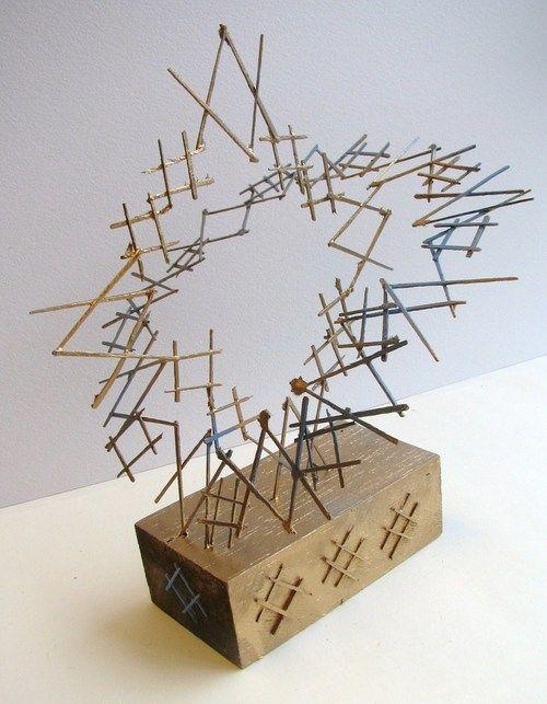 Toothpick sculpture:: erin evans :: 3-D Design