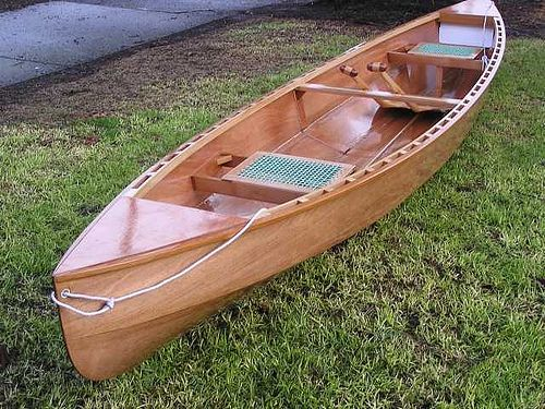 plywood canoes | The two plywood canoes in my range – How to choose. | Storer Boat ...