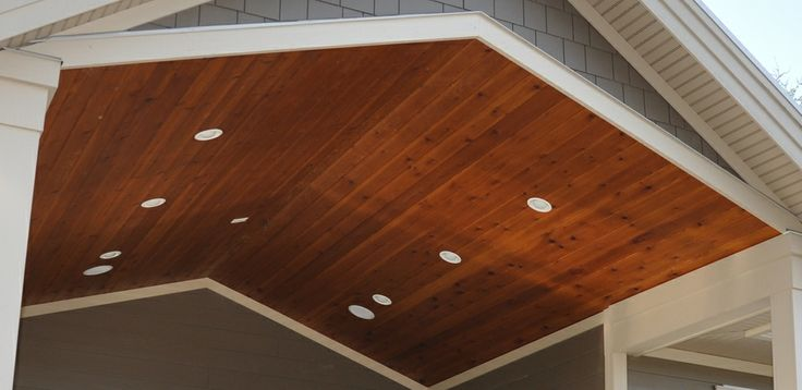 Cedar Soffit Google Search Architecture Ideas