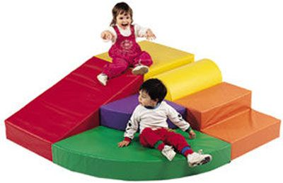 soft climber... brayden so needs this, maybe he will stop climbing on the furniture
