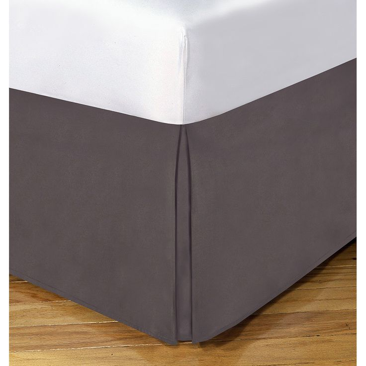 Lux Hotel 14-inch Drop Bedskirt - Overstock™ Shopping - Top Rated Bedskirts