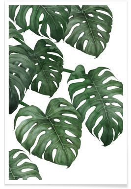 Tropical No. 6 - typealive - Premium Poster